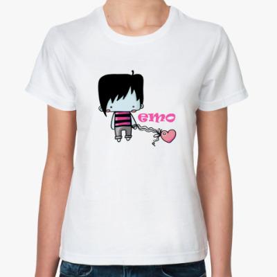 Классическая футболка  Эмобой