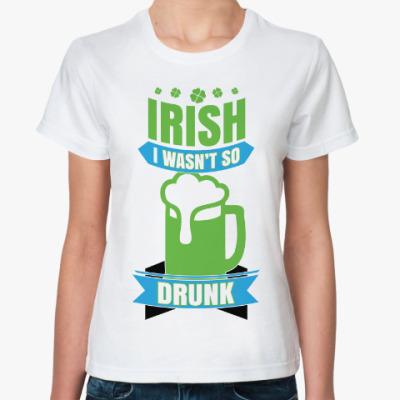 Классическая футболка Ирландец