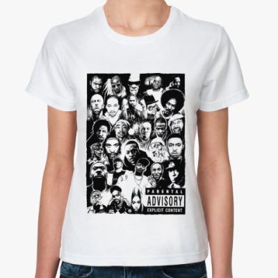 Классическая футболка Rap Legends