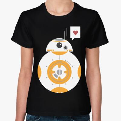 Женская футболка Дроид BB-8