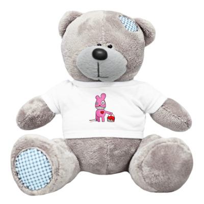 Плюшевый мишка Тедди pinky murder teddy