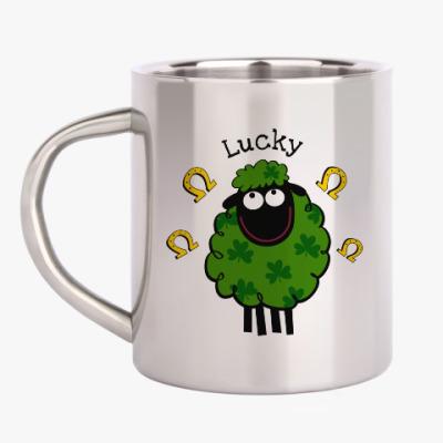 Кружка металлическая Lucky sheep