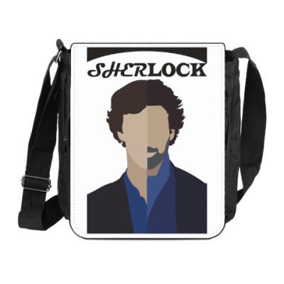 Сумка на плечо (мини-планшет) SherLock