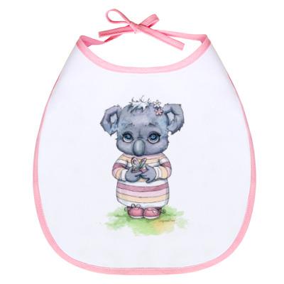 Слюнявчик Little koala