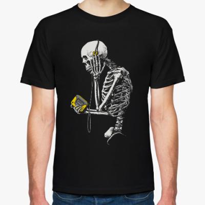 Футболка Скелет с плеером