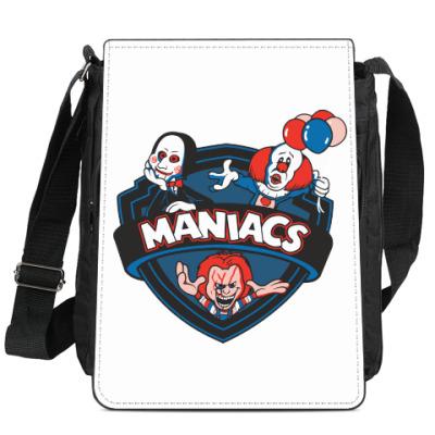 Сумка-планшет Maniacs