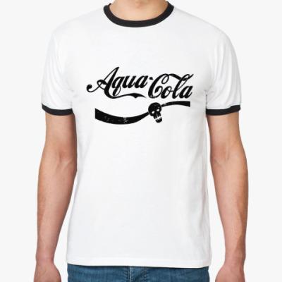 Футболка Ringer-T Безумный Макс : Aqua Cola