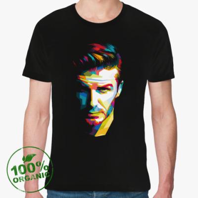 Футболка из органик-хлопка David Beckham
