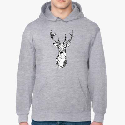 Толстовка худи Северный олень