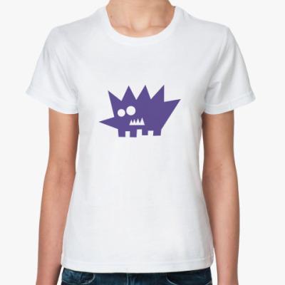 Классическая футболка Ёж