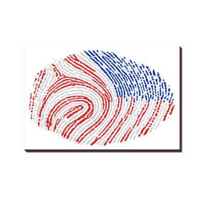 USA отпечаток