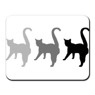Коврик для мыши Три кота