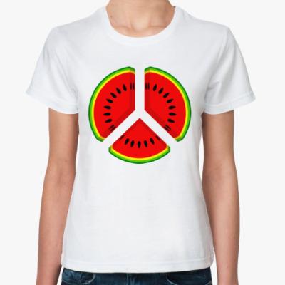 Классическая футболка Арбуз