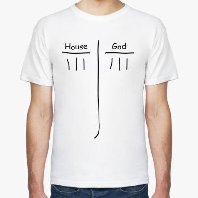 Футболка House God