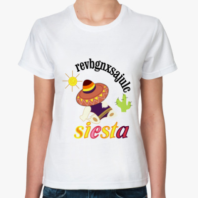 Классическая футболка Сиеста
