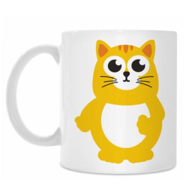 Кружка Жирный кот