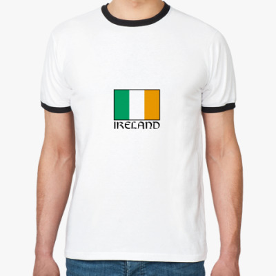 Футболка Ringer-T   Ireland