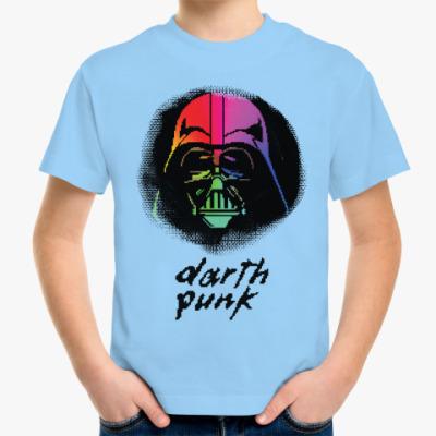 Детская футболка Darth Punk ( Pixels 8 bit )