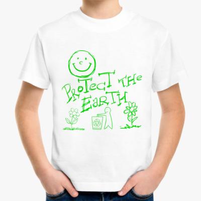 Детская футболка Green Planet