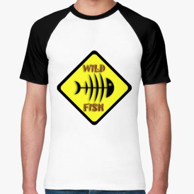 Футболка реглан  Wild Fish
