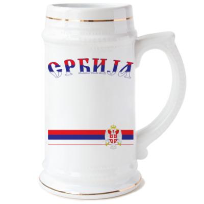 Большой герб Сербии