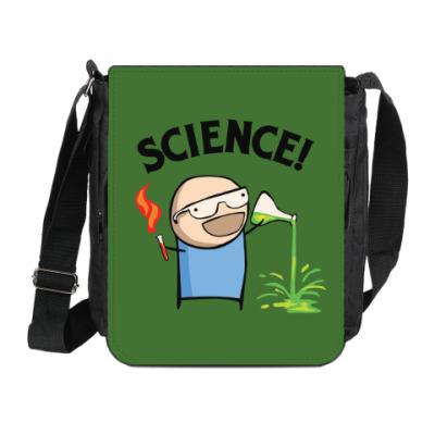 Сумка на плечо (мини-планшет) Science! Ботан