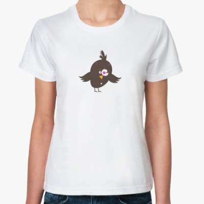 Классическая футболка Птицоглазка