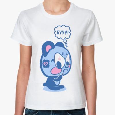 Классическая футболка БУУУ