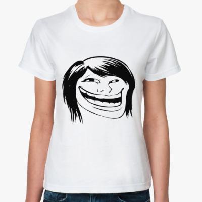Классическая футболка GirlTroll