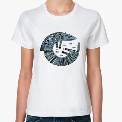 Классическая футболка  'Кот Тимофей'