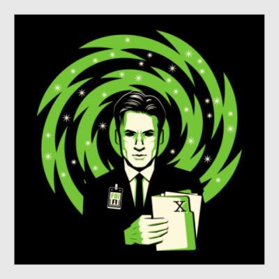 Постер The X-Files Fox Mulder