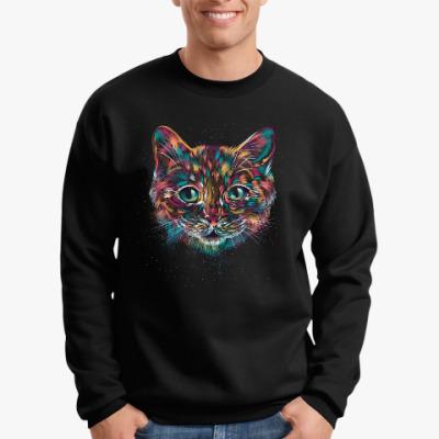 Свитшот Абстрактный Кот