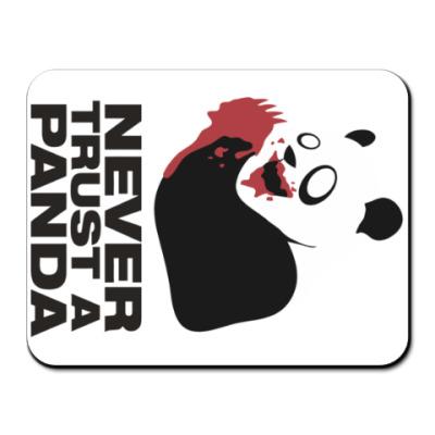 Коврик для мыши Никогда не верь панде