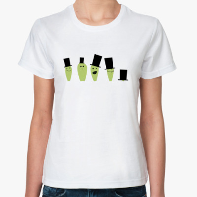 Классическая футболка Космические зайцы