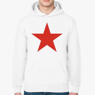 Толстовка худи Красная звезда