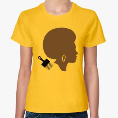 Женская футболка Afro Lady