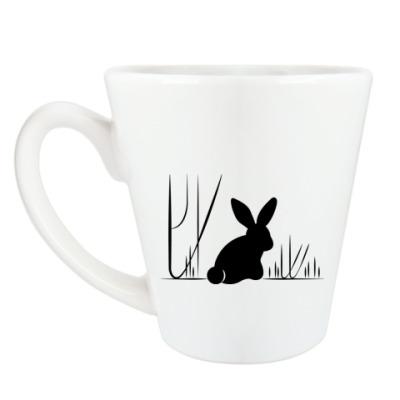 Чашка Латте BubbleForest / Зайцы