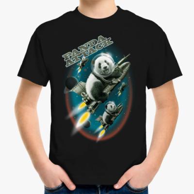 Детская футболка Панды атакуют