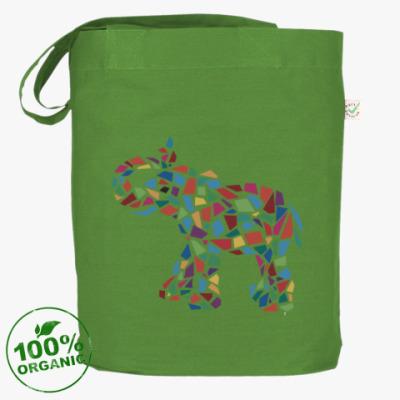 Сумка Слон - мозаика