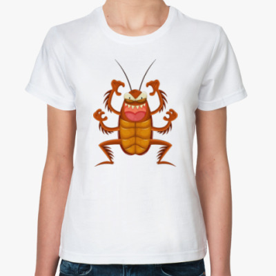 Классическая футболка Таракан