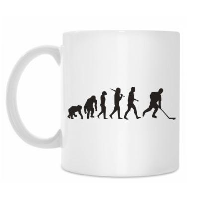Кружка Хоккейная эволюция