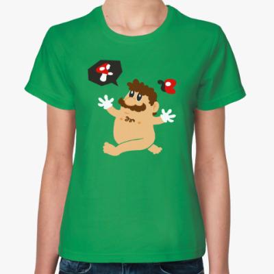 Женская футболка Супер Марио и грибы