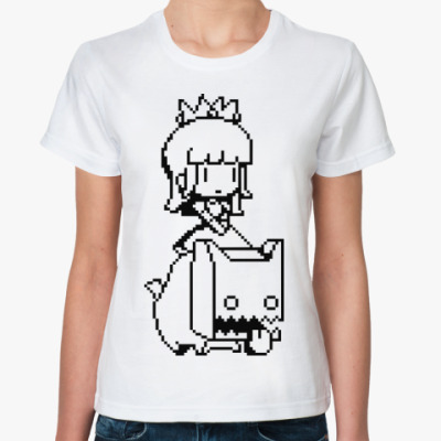 Классическая футболка Anime Princess