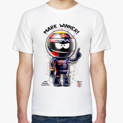 Футболка MARK WINNER!