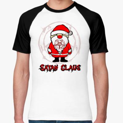 Футболка реглан Satan Claus