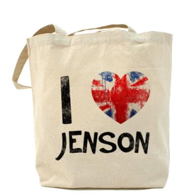 Сумка I LOVE JENSON