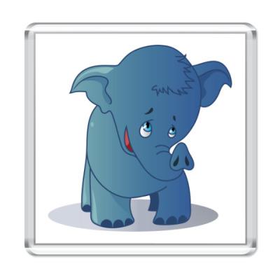 Магнит слоник