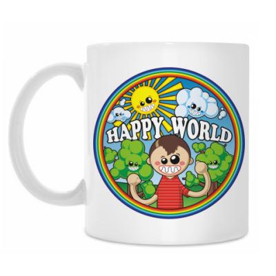 Кружка Happy World
