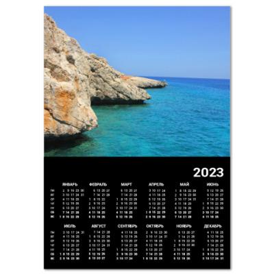 Календарь Кипрское море