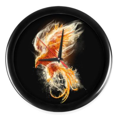 Настенные часы Птица Феникс Fenix bird